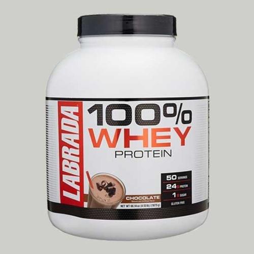 WellnessMart Labrada - 100 Whey 4.13 lb Chocolate