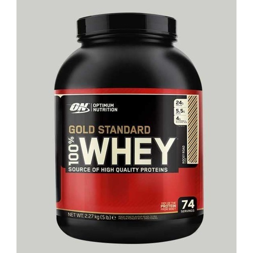 WellnessMart ON 100 Gold Standard Whey Protein Vanilla Ice Cream 5 lbs