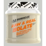 MastMart Bigmuscles Nutrition Raw & Real Isolate Whey Protein Unflavoured 480 gm