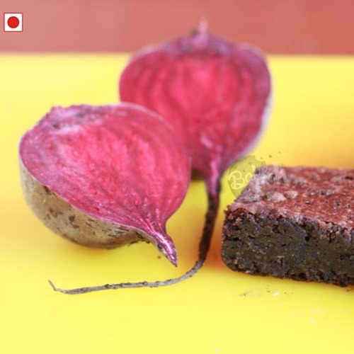 SUGARLESS RAGI BEETROOT CHOCOLATE BROWNIES [MADE WITH PALM JAGGERY] (PACK OF 6)