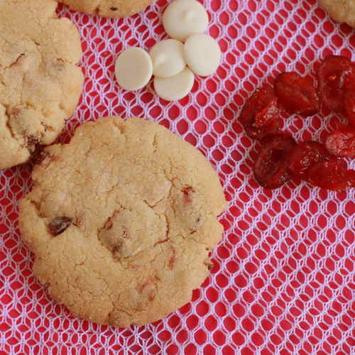 CRANBERRY WHITE CHOCOLATE COOKIES PACK OF 12