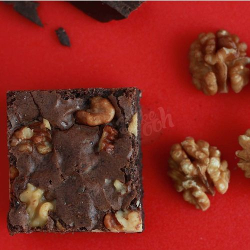 DOUBLE CHOCOLATE WALNUT BROWNIES (PACK OF 6)