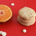 WHITE CHOCOLATE ORANGE COOKIES (PACK OF 12)