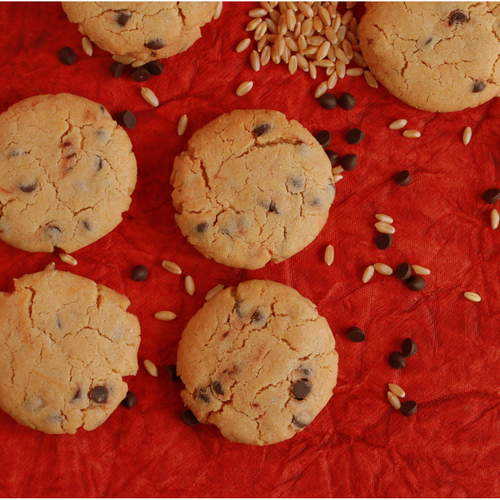 WHOLE WHEAT CHOCOLATE CHIP COOKIES (PACK OF 12)
