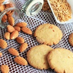 WHEAT ALMOND COOKIES PACK OF 12