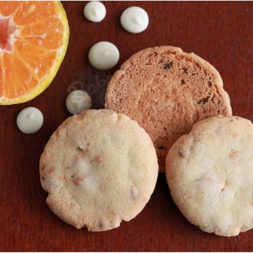 WHITE CHOCOLATE ORANGE COOKIES PACK OF 12