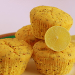 LEMON CHIA MUFFINS (PACK OF 6)