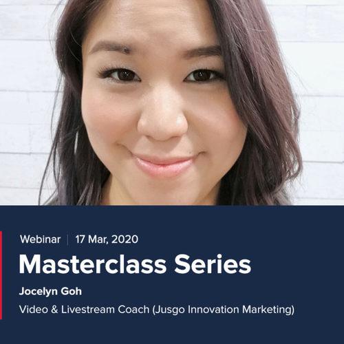 Masterclass Series Webinar 17th Mar
