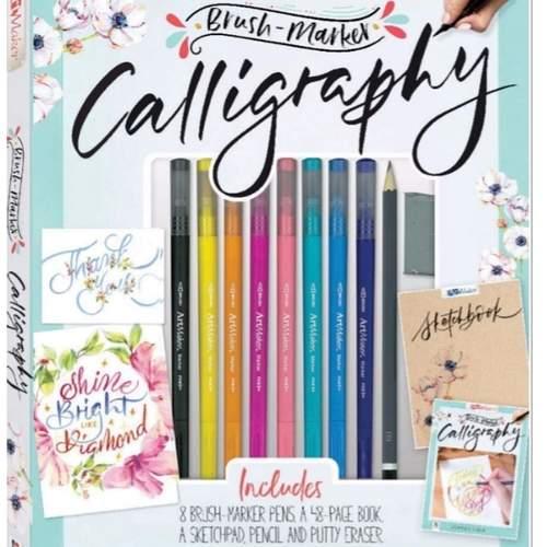 Brush marker Calligraphy DIY Kit